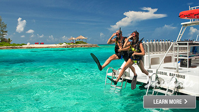 Sandals Emerald Bay Bahamas scuba diving