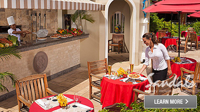 Sandals Grande St Lucia best restaurants