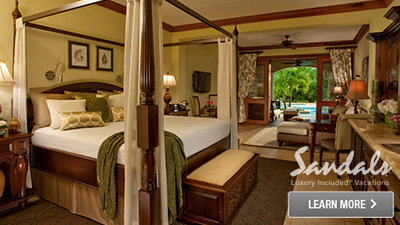 Sandals Royal Caribbean resort suite