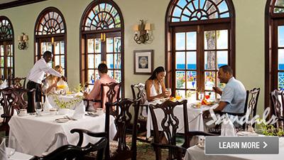 Sandals Royal Plantation restaurant