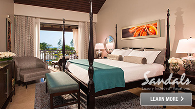 Caribbean top honeymoon resort