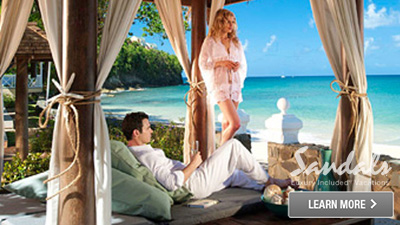 Caribbean romantic spots