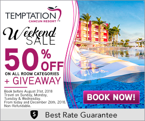 temptation topless adults resort deals