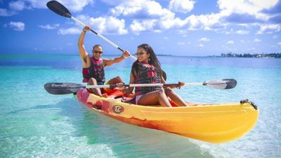 breezes resort water activities