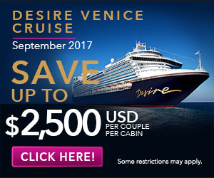 desire venice cruise best cruise deals