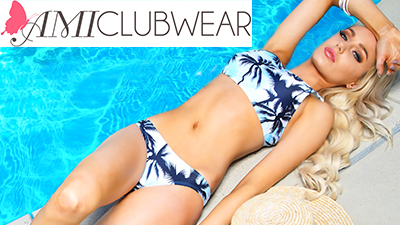ami clubwear sexy vacation swimwear