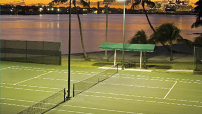 atlantis tennis courts