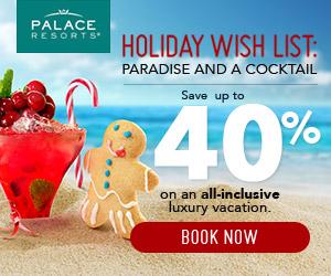 palace resorts holiday wish list sale