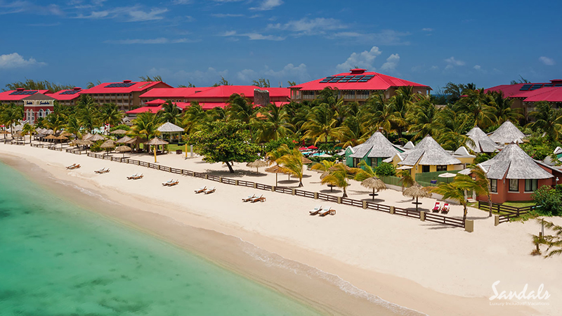 best caribbean hotels for lovers sandals grande antigua