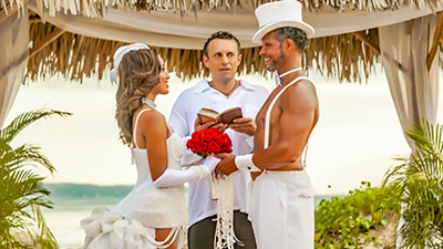 hedonism swingers resort weddings honeymoon marriage