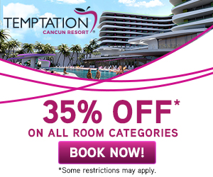 temptation resort mexico best vacation deals