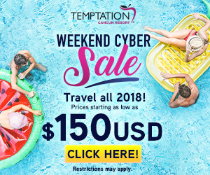 temptation weekend cyber sale best vacation deals