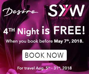 desire swinger vacation deals