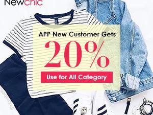 newchic new customer sale