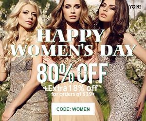 yoins happy womens day sale