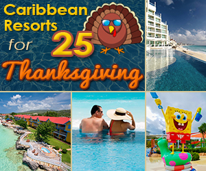 best caribbean resorts for thanksgiving holiday vacation
