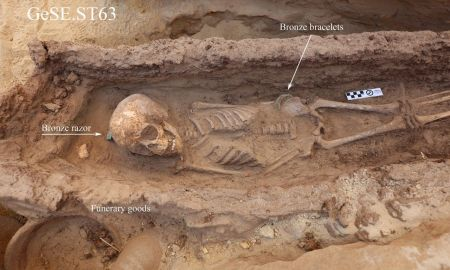 1513633065510 - Archaeologists discover child graves at ancient site in Egypt