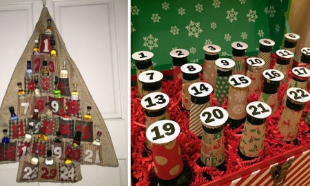 alcohol advent - The Only Advent Calendar You Need is Full of Alcohol