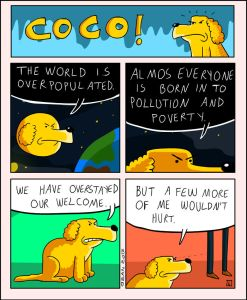 coco the dog ozan draws comics 16 5a38c8eb80991 png  700 247x300 - 17 Hilariously Pessimistic Comics About Coco The Jolly Dog That Every Pessimist Will Relate To