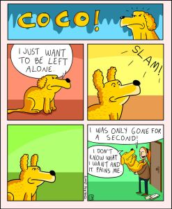 coco the dog ozan draws comics 7 5a38c8ba5873b png  700 247x300 - 17 Hilariously Pessimistic Comics About Coco The Jolly Dog That Every Pessimist Will Relate To