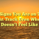 10 Signs You Are on The Right Track Even When It Doesn't Feel Like