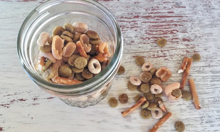 1515437836 recipe doggie trail mix - Recipe: Doggie Trail Mix