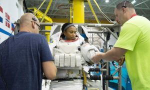 1516676873 brother of african american nasa astronaut pulled from historic space station mission blames racism - Brother of African-American NASA astronaut pulled from historic space station mission blames racism