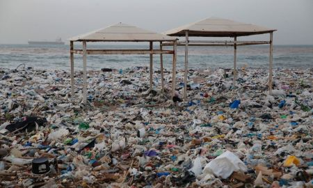 1516828031 flood of garbage hits beach in lebanon sparks outrage - Flood of garbage hits beach in Lebanon, sparks outrage