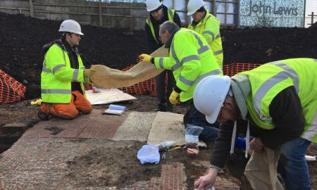 1516865743 delicate discovery how a rare roman mosaic was lifted from the ground - Delicate discovery: How a rare Roman mosaic was lifted from the ground