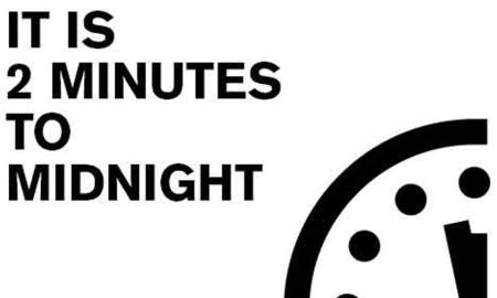1516903494 doomsday clock reaches 2 minutes to midnight closest point to nuclear annihilation since cold war - Doomsday Clock reaches 2 minutes to midnight - closest point to nuclear annihilation since Cold War