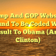 Trump And GOP Websites Found To Be Coded With Insult To Obama (And Clinton)