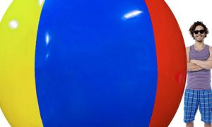 unhappy customer writes epic amazon review for his 12 foot beach ball - Unhappy Customer Writes Epic Amazon Review For His 12-Foot Beach Ball
