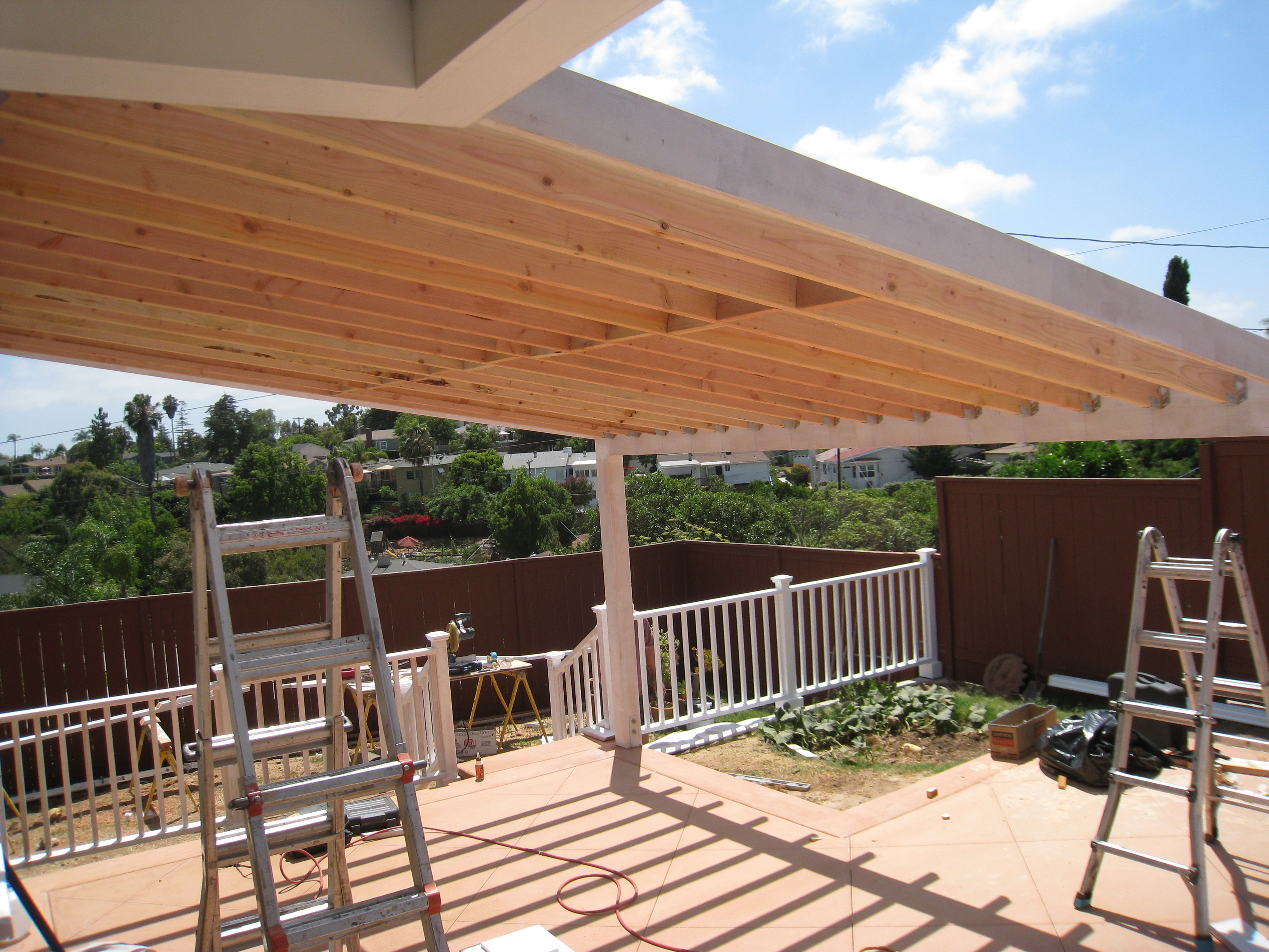 Main Matchup Wood Patio Covers Versus Aluminum Patio