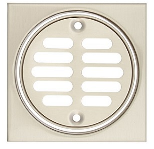 Mountain MT231 Shower Drainage Cover Brushed Nickel
