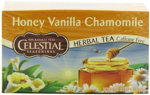 Celestial Seasonings Herb Tea Honey Vanilla Chamomile 20