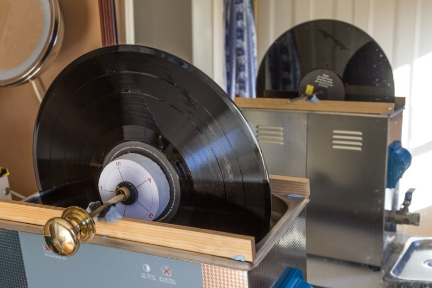 home made Ultrasonic record cleaning