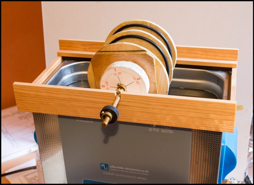 ultrasonic vinyl record cleaning