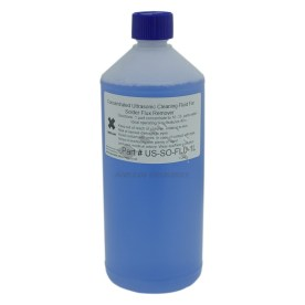 1 litre bottle of flux remover for ultrasonic cleaners