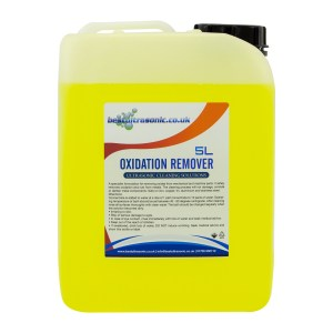 bottle of oxidation remover