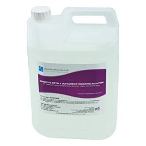 5 Ltr bottle of sensitive metal cleaner for ultrasonic cleaning