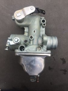 honda-cb350-4-carburettor after ultrasonic cleaning