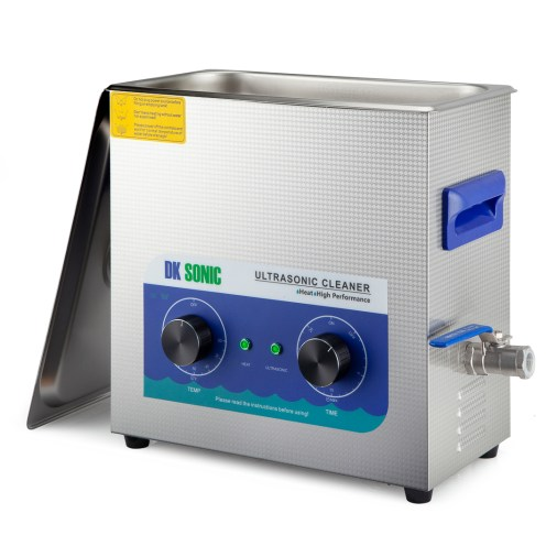 DK Sonic 6 Ltr digital ultrasonic cleaner with dial control