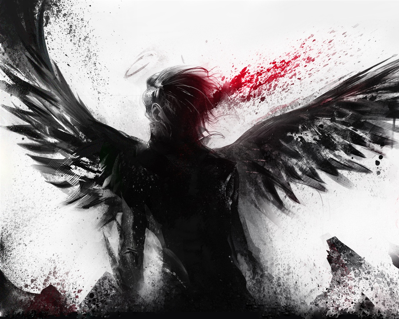 Gothic Girl Wallpaper 640x960 Wallpaper Bleeding Of The Black Angel 1920x1200 Hd Picture