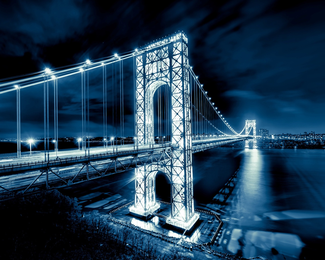 Turkey Wallpaper For Iphone Wallpaper George Washington Bridge New Jersey Manhattan