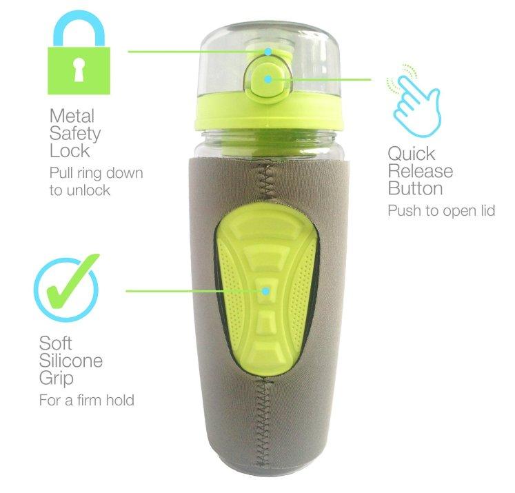 a green bottle