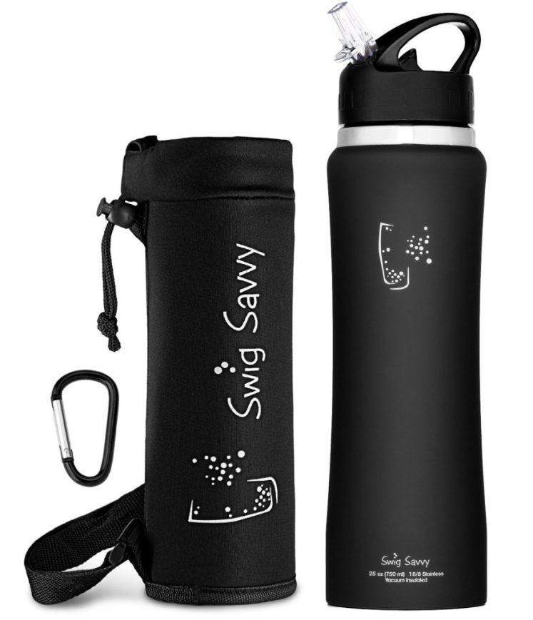 The black water bottle the best water bottle for gym