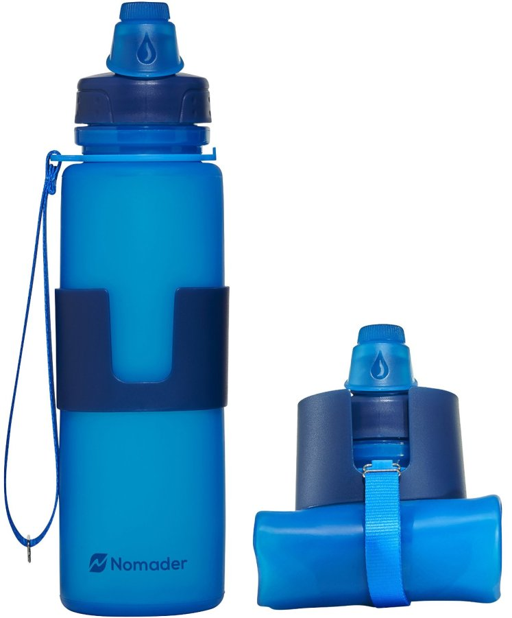 The Nomader water bottle is a great workout water bottle.