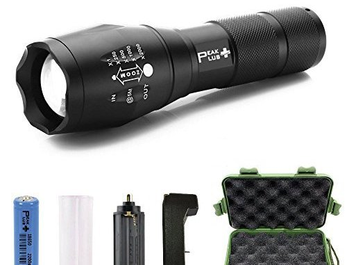 top 10 best rechargeable flashlight models for your emergency kit!