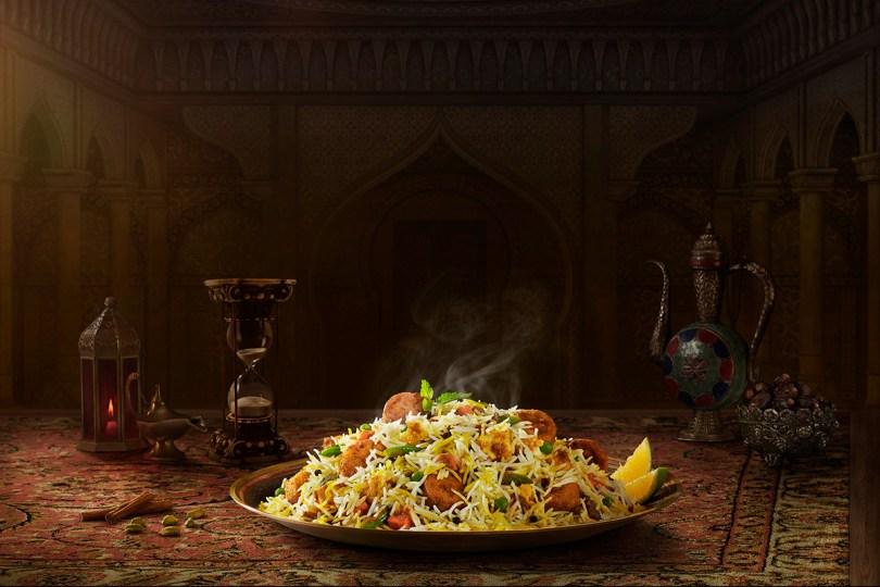 Behrouz Biryani is a biryani joint in Dubai