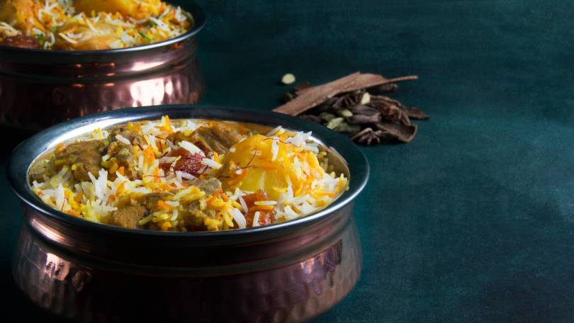 Dum Pukht serves the best biryani in Dubai
